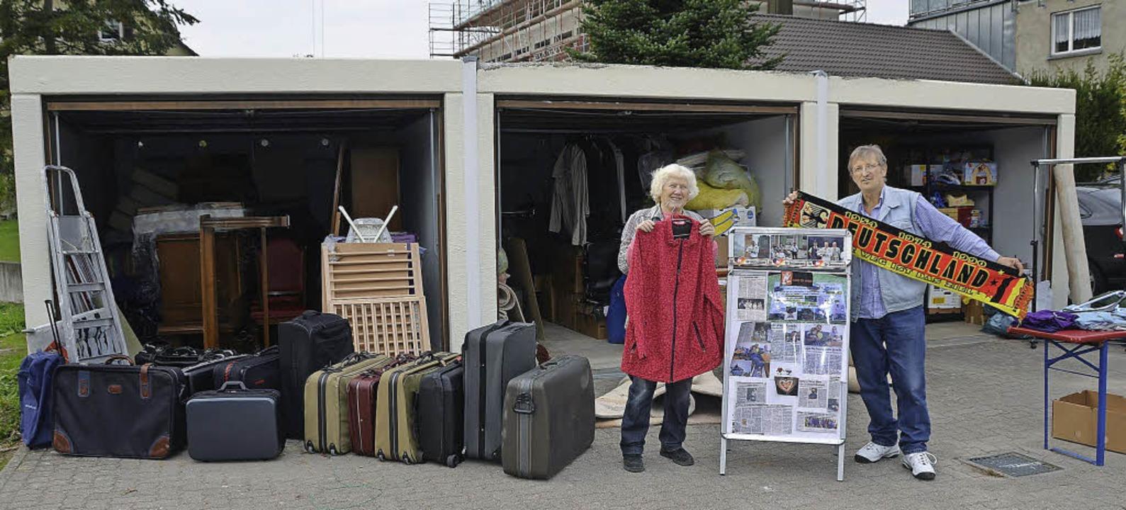 in drei garagen mehr platz f r hilfsg ter r mmingen badische zeitung. Black Bedroom Furniture Sets. Home Design Ideas