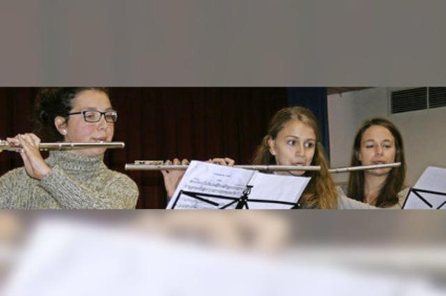 Hoffnungsvolle Talente und engagierte junge Musikanten