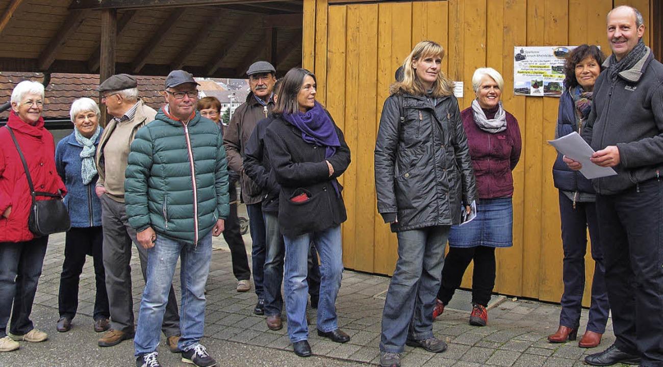 Die SPD-Kandidatin für die Landtagswah...nheizen der Lokomotive betroffen sind.  | Foto: Jutta Schütz