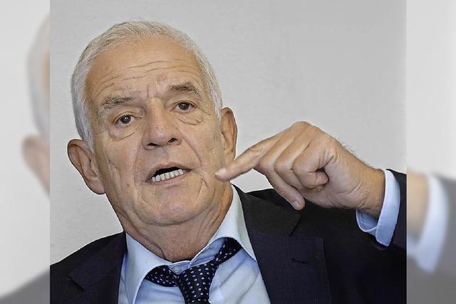 Justizminister Rainer Stickelberger zu Flüchtlingen: