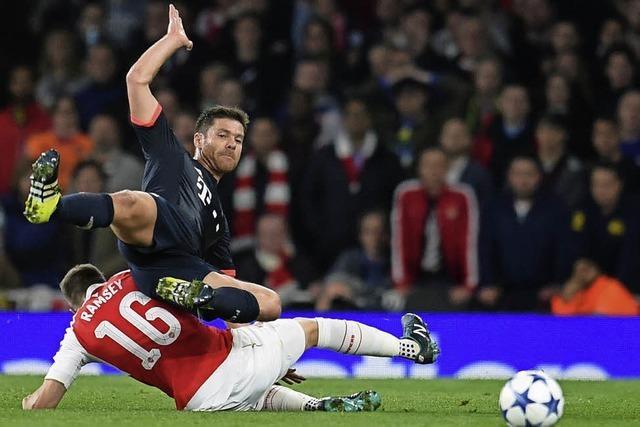 Der FC Bayern verliert 0:2 beim FC Arsenal