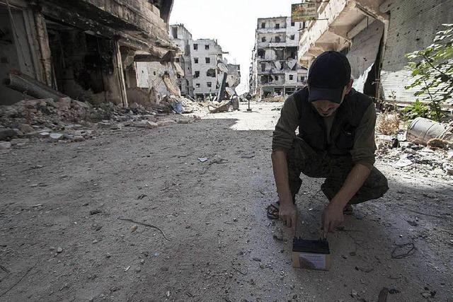 Rebellen berichten über Angriffe der syrischen Armee