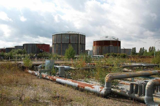 Alte Raffinerie bei Straßburg soll Gewerbepark werden