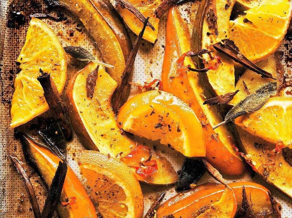 Kürbis mit Zimt und Orangen  | Foto: Michael Wissing BFF