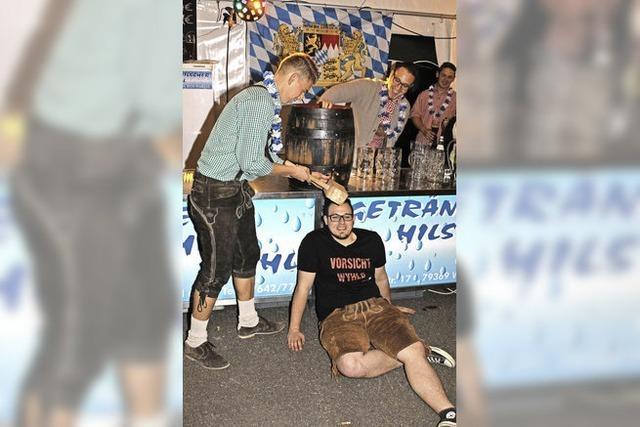 Hunderte feiern beim Wyhler Oktoberfest