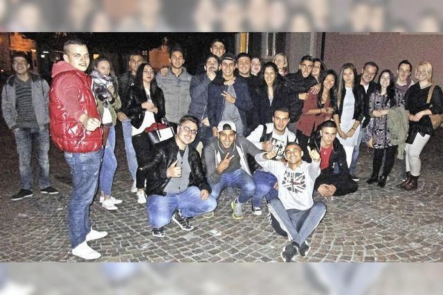 Schlettstädter Jugendliche staunen übers Haus der Jugend