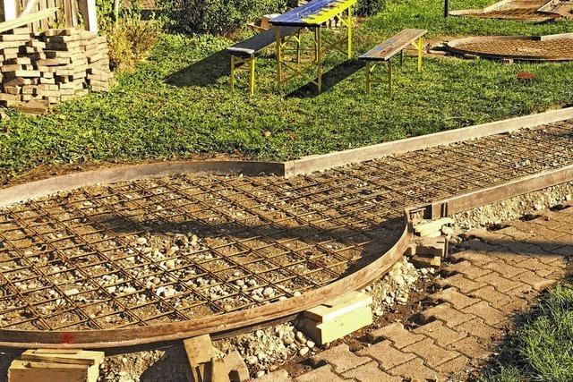 Die Minigolfanlage in Waldshut wird saniert