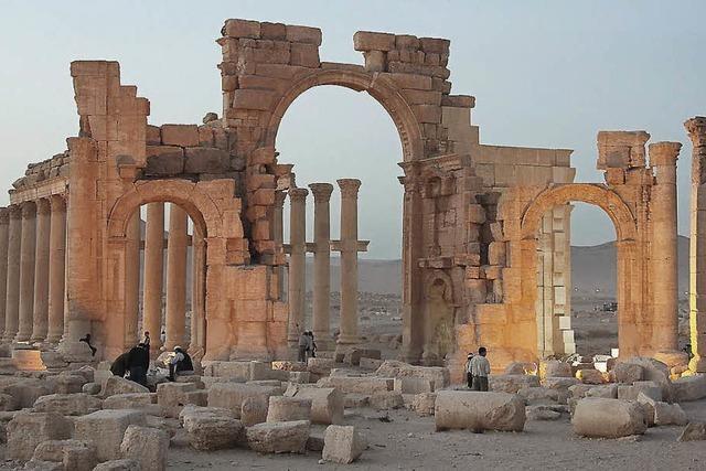 Nicht nur der IS zerstört die Kulturschätze Syriens