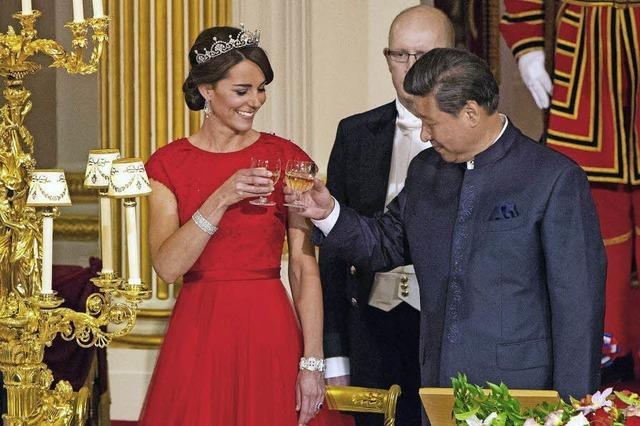 Für ihr Outfit hat Kate