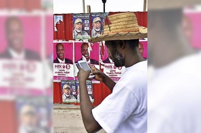 Gewalt vor Präsidentschaftswahl in Haiti