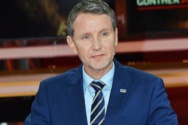 AfD-Führung geht auf Distanz zu Erfurter Landeschef Höcke
