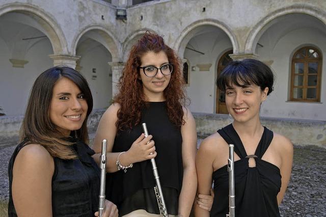 Flötenmusik in Emmendingen