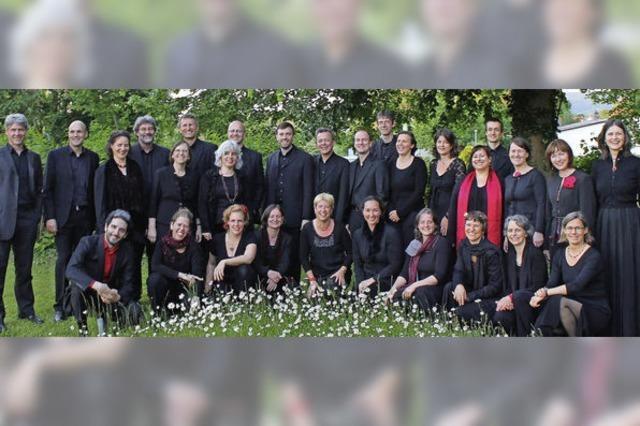 John-Sheppard-Ensemble bei Kerzenlicht in Hinterzarten