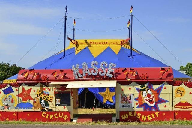 Circus Weisheit in Allmannsweier