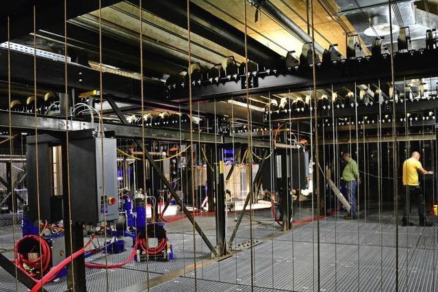 Ein Blick hinter die Kulissen des Basler Theaters zur Neueröffnung