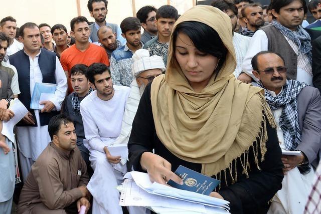 Visa gibt es in Kabul auf dem Basar