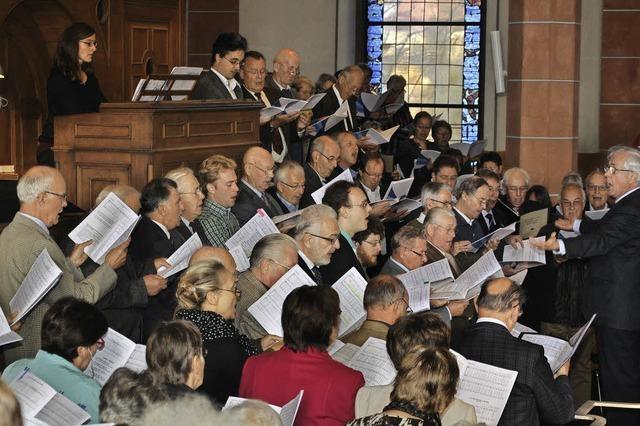Chorformationen des Kirchenbezirks Breisgau-Hochschwarzwald in Hinterzarten