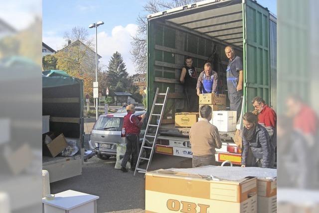 Viele Spenden für Polenhilfe