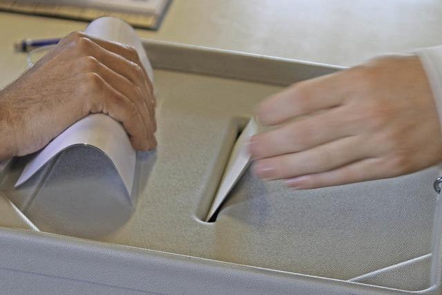Bürgermeisterwahl am 14. Februar