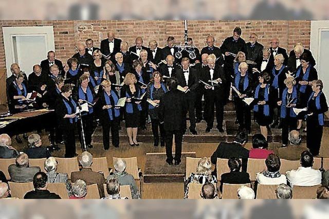 Konzert der Chorgemeinschaft Umkirch im Gutshof