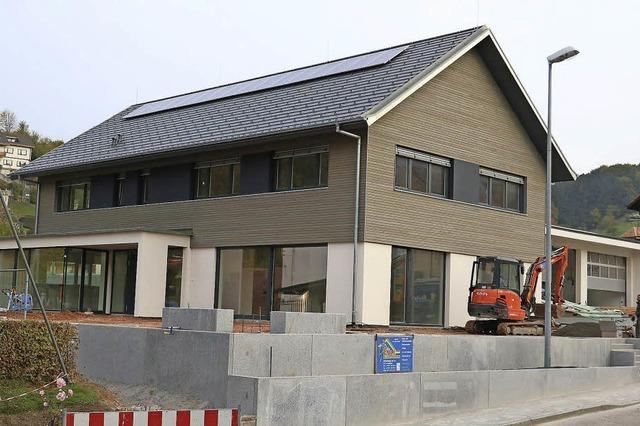 Die neue Dorfmitte von Schweighausen ist fertig