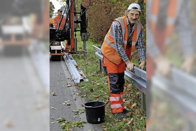 Ortsdurchfahrt: Planken ersetzt