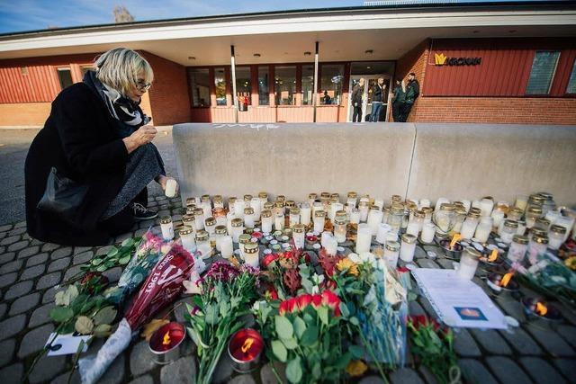 Tödlicher Schwertangriff: Der Attentäter war ein Rassist