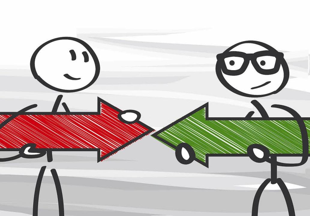 Wenn zwei sich streiten, braucht es hä...nen Dritten, um das Problem zu lösen.   | Foto: Truffelpix (Fotolia)