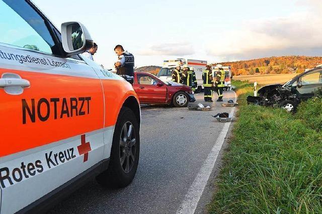Frontalkollision bei Wittlingen – 1 Toter, 3 Schwerverletzte