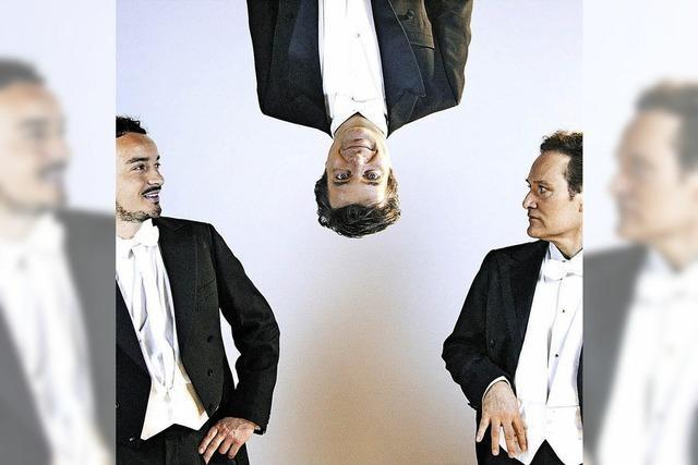 Konzertkabarett mit drei Tenören im Gloria Theater in Bad Säckingen
