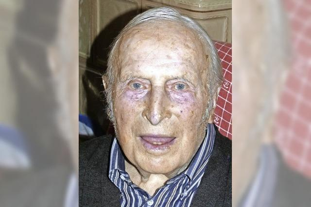 Ein Ehrenbürger wurde 90 Jahre