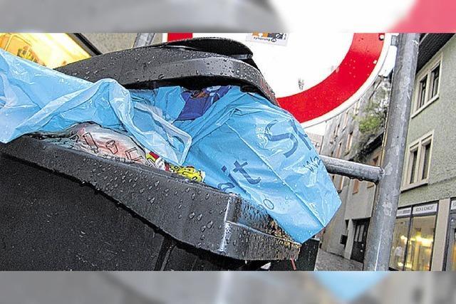 Müllentsorgung: Gefäße ohne Alternative