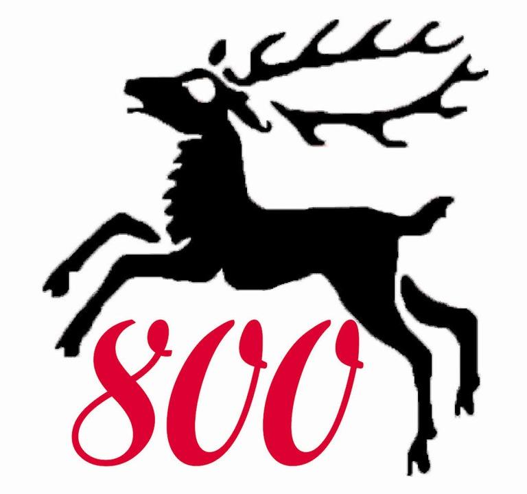 Das Logo zur 800-Jahrfeier von Wettelbrunn     Foto: Grafik: Bernd Immen