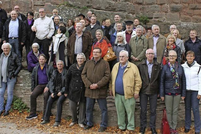 Vereinstreffen führte auf die Hochkönigsburg