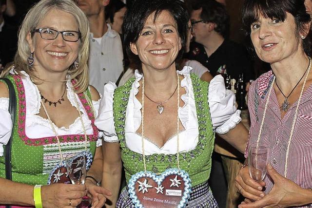 Bier, Blasmusik und Besuch aus Bayern