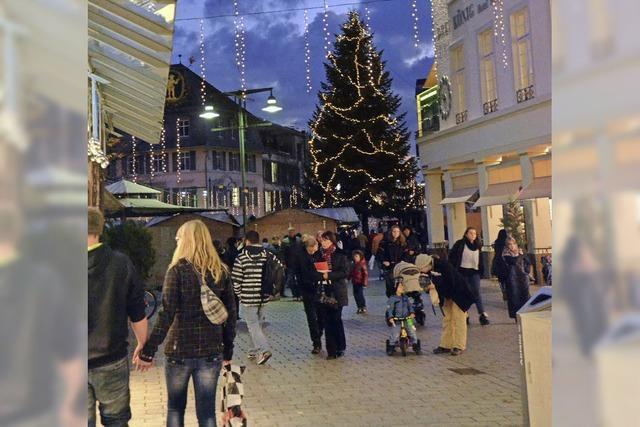 Das Weihnachtslicht ist ein Gemeinschaftswerk