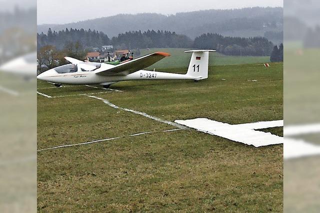 Punktgenaue Landung