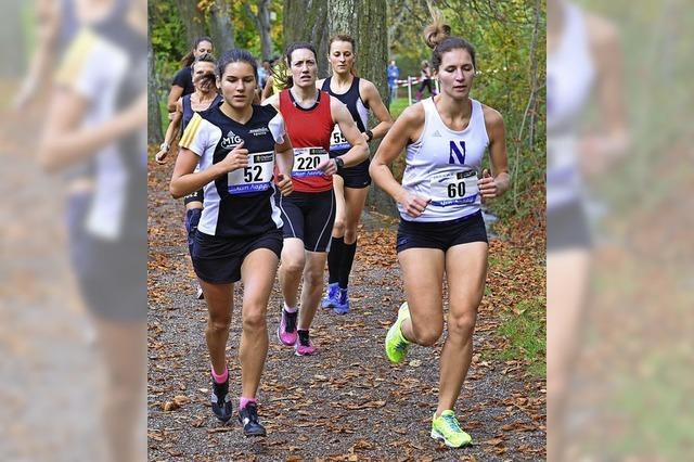 Sophie Ewald läuft und läuft