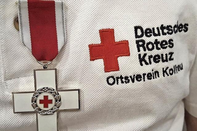 Hohe DRK-Auszeichnung für Rolf Stadelmann aus Kollnau