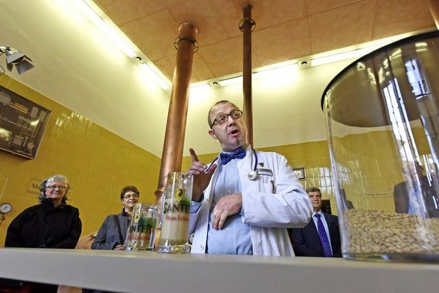 Brauereiführungen bei Ganter gibt's jetzt auch auf Schwäbisch