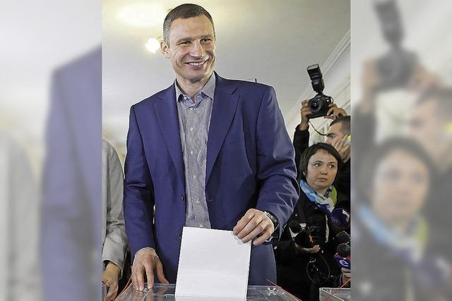 Ukraine ist politisch wieder zersplittert