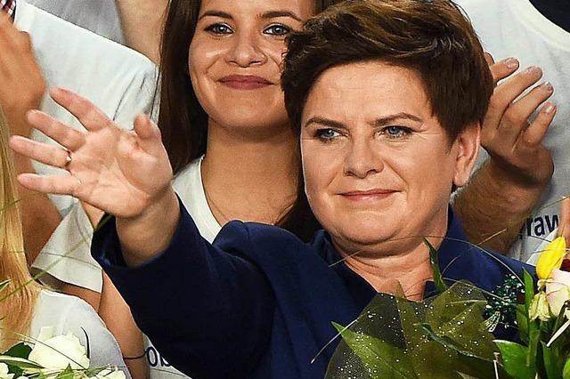 Beata Szydlo soll in Polen Regierungschefin werden