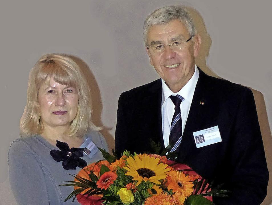 Jürgen Ehret tritt die Nachfolge von B...örderkreises Archäologie in Baden an.   | Foto: privat