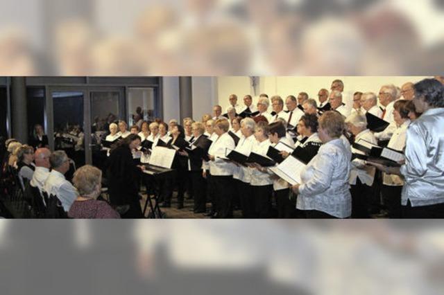 Chorkonzert mit französischen Gästen