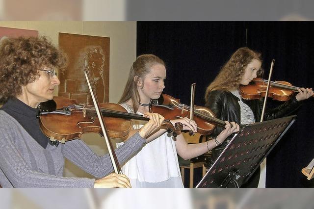 Junge Talente machen der Musikschule alle Ehre