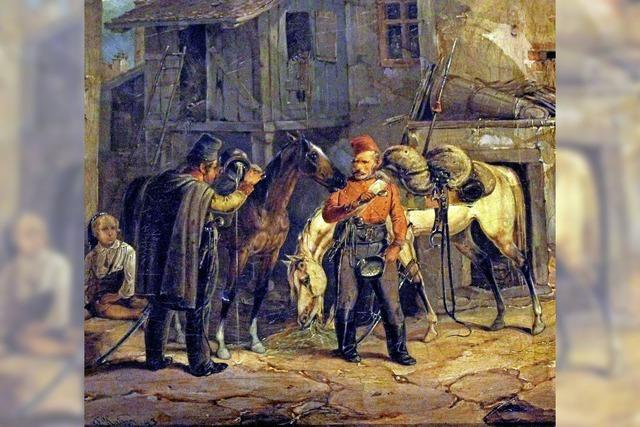 Russische Soldaten in Tüllingen