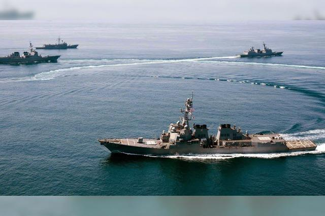 Washington schickt Zerstörer ins südchinesische Meer - und erntet Kritik