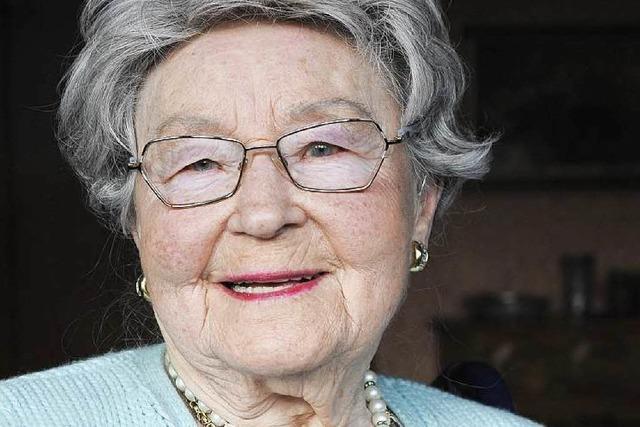 Freiburgs drittälteste Einwohnerin Erna Faigle ist tot