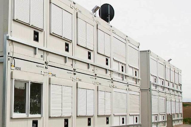 Landkreis zahlt 14,5 Millionen Euro für Wohncontainer