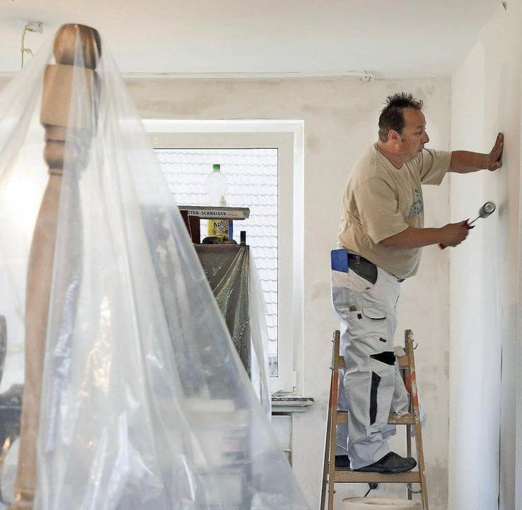Alltag unter Malerfolie: Auch wenn das... schmutzsicher einzupacken, ist groß.   | Foto: kai Remmers/dpa/Eyewave/Fotolia.com